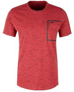 Q/S designed by - s.Oliver Heren T-Shirt (rood) maat S & L