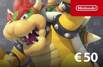 Nintendo eShop Tegoed €50,- @ Gamivo