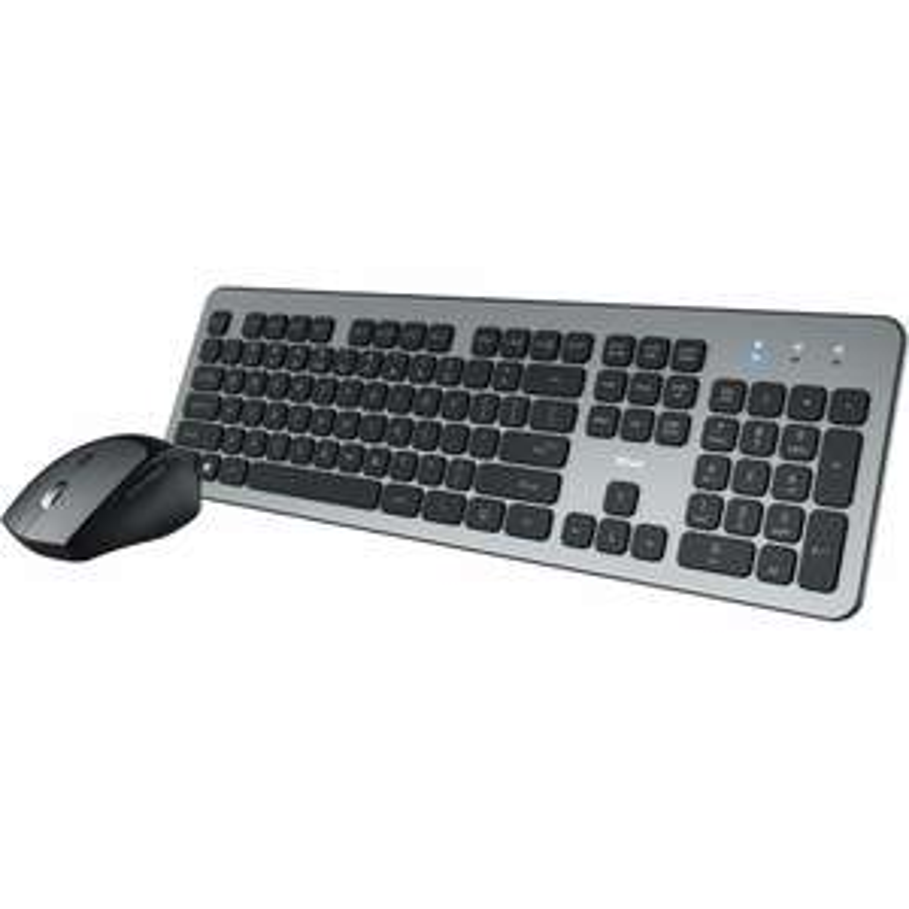 Trust Raza Wireless Silent Keyboard & Mouse @ BCC