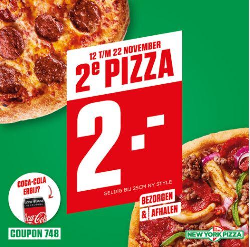 2e pizza 2 euro @ New York Pizza