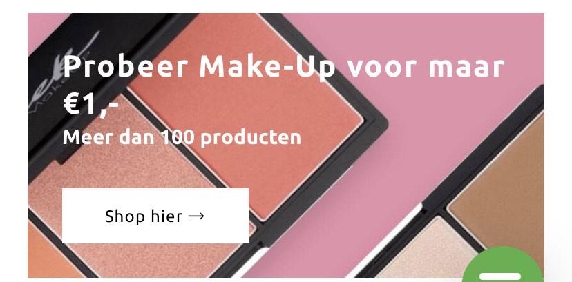 Sleek make-up voor €1 + extra kortingscode