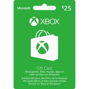 Xbox Live Giftcard 25 euro @ Intertoys (Winkels)