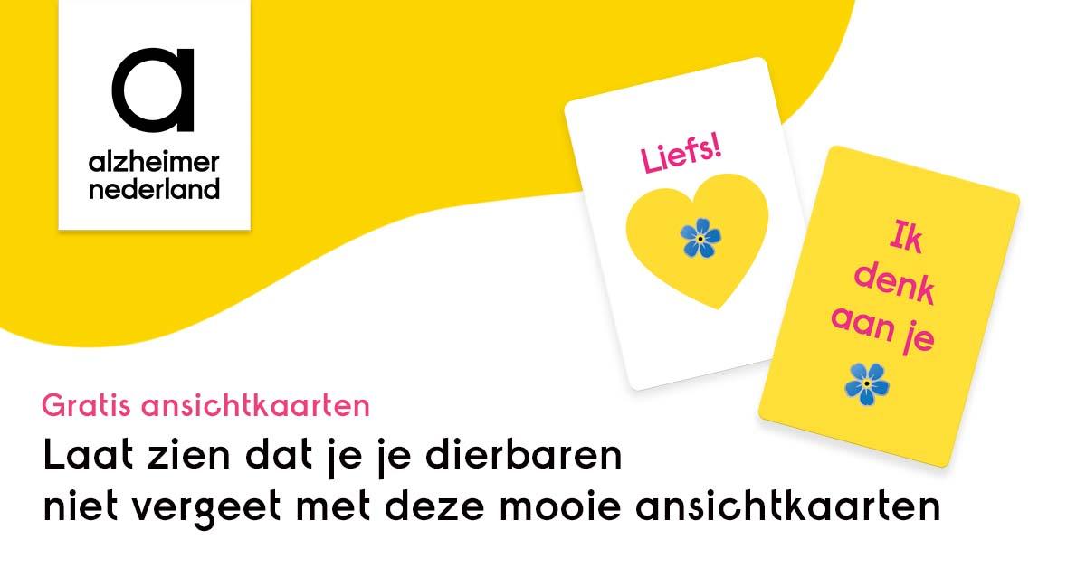 Gratis Ansichtkaarten @Alzheimer Nederland