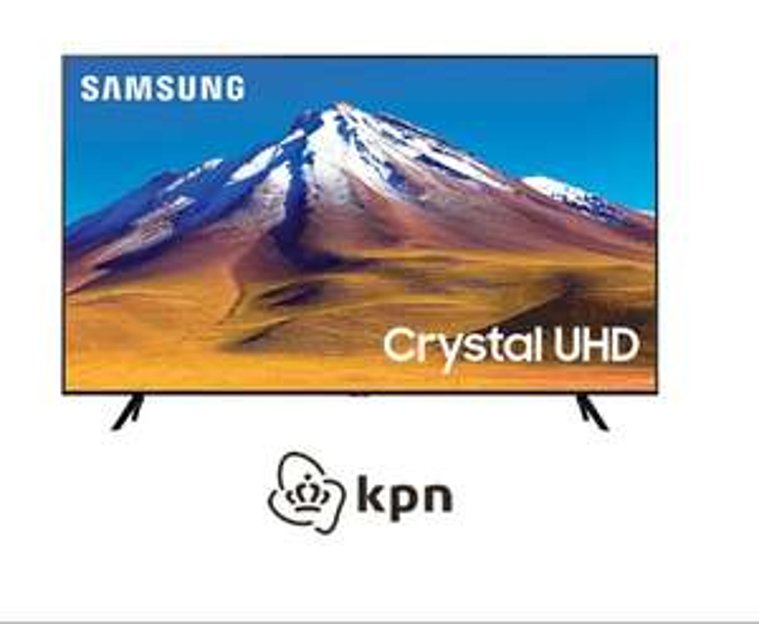 Ontvang een 43 inch Crystal UHD TV t.w.v. €449 bij het afsluiten van een 3 jarig KPN abonnement.