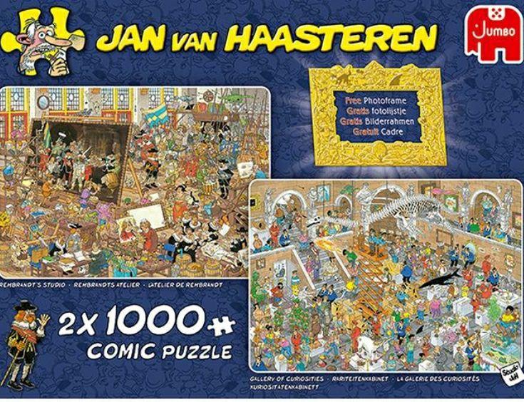 Van Haasteren legpuzzels 2x 1000 stukjes