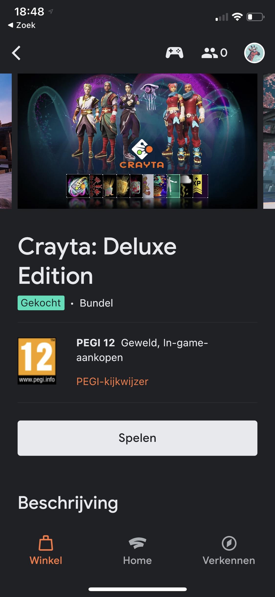 Google Stadia - Crayta is gratis (zonder Pro!)