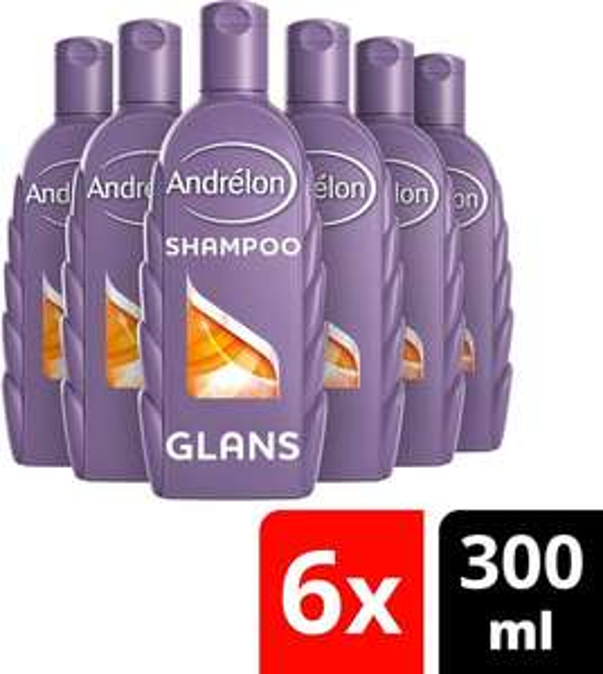 [SELECT ONLY bij BOL.COM] Andrélon Classic Glans Zomer Tarwe Shampoo - 6 x 300ml - Voordeelverpakking