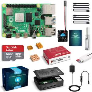 Raspberry Pi 4 Model B 4 GB Ultimate Kit