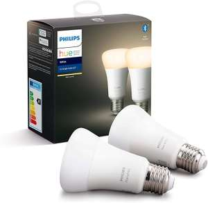 Philips Hue White Ambiance Bluetooth - E27 (duo pack)