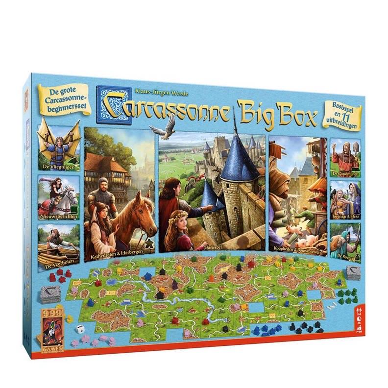 Carcassonne Big Box bordspel
