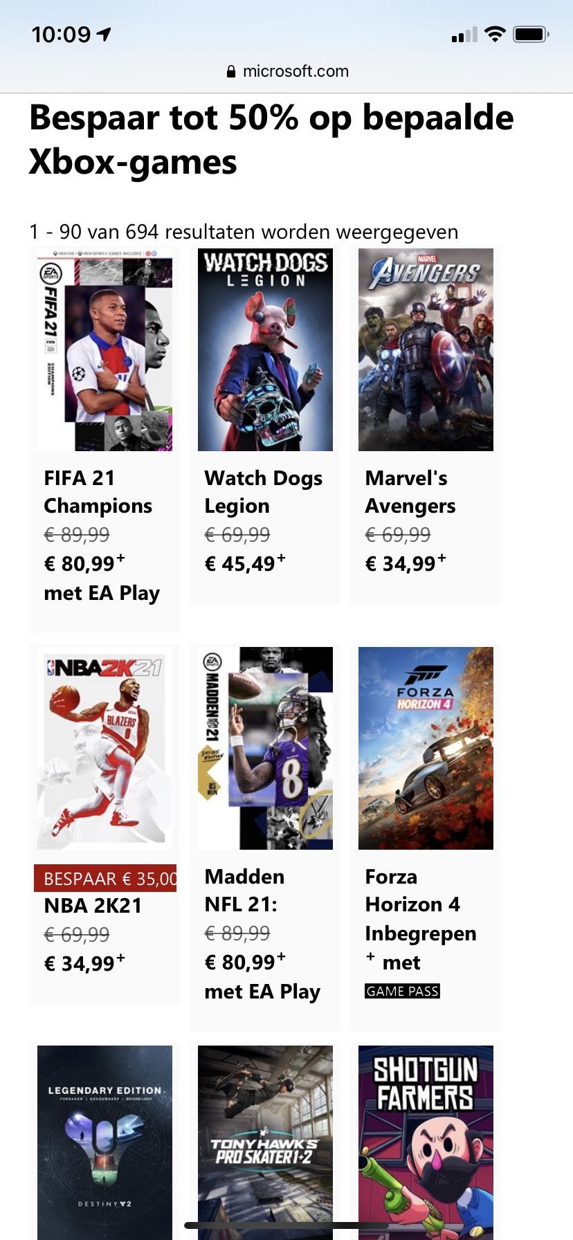 Digital games for sale Xbox Black Friday