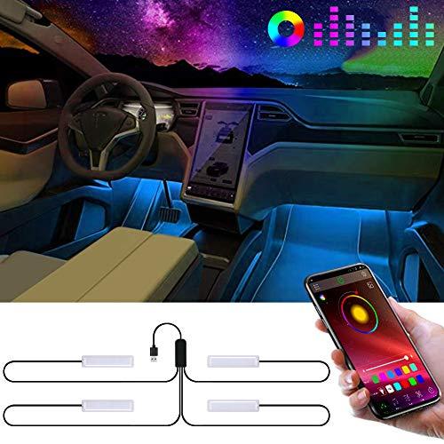 Eletorot LED binnenver lichting / Sfeerverlichting voor de auto Met App @ Amazon.de