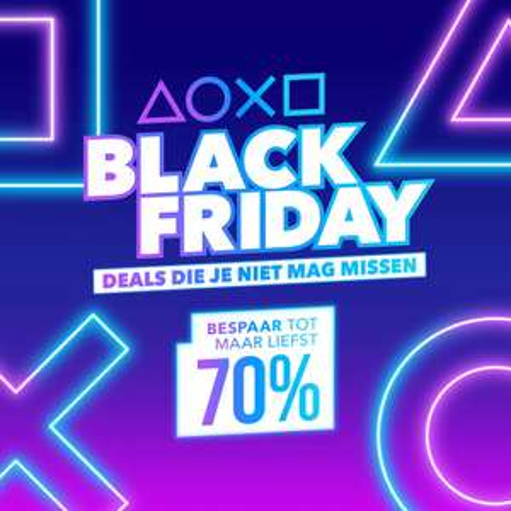 Playstation Store: Black Friday aanbiedingen