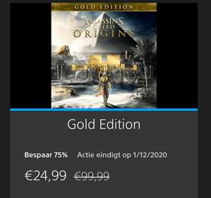 Assassin's Creed Origins - Gold edition PS4