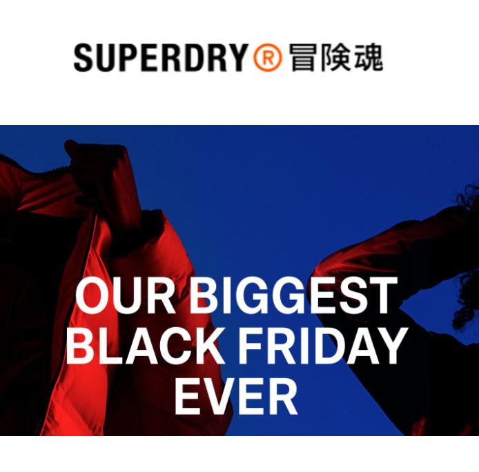 Black Friday SALE + 20% op nieuwe collectie @ SUPERDRY