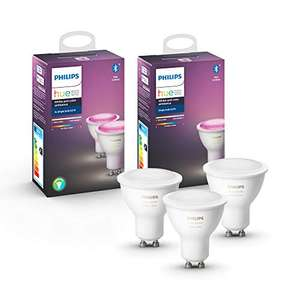 Philips Hue White & Color Ambiance GU10 3-pack Bluetooth