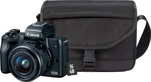 Canon EOS M50 starterskit + gratis beschermcase