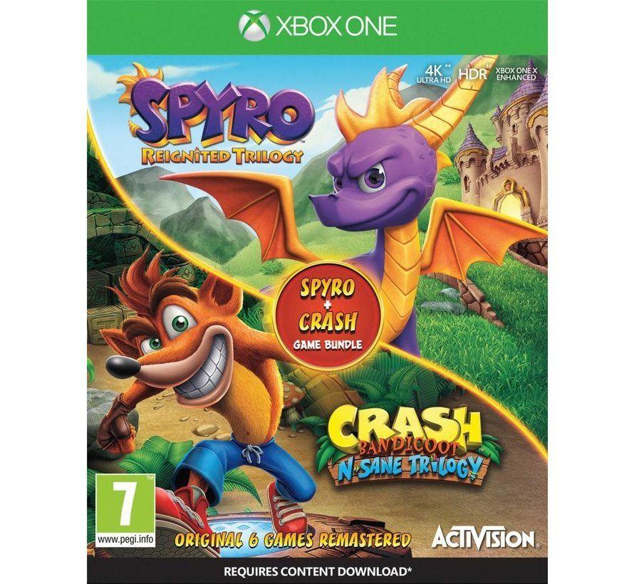 Spyro Reignited Trilogy + Crash bandicoot n'sane trilogy (Xbox/ps)