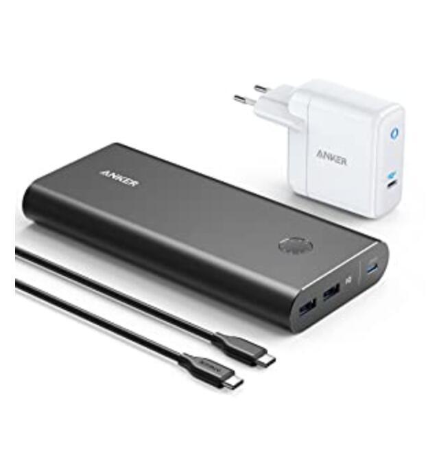 Anker PowerCore+ 26800 PD 45W powerbank met 60W PD oplader voor €74,99 @ Amazon.nl
