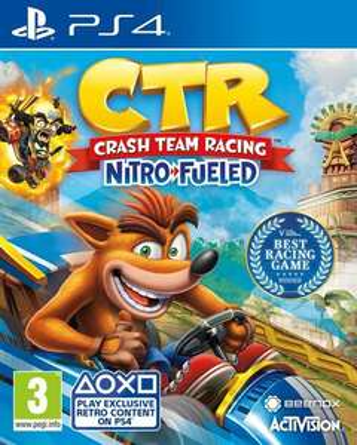 CTR nitro fueled - Ps4