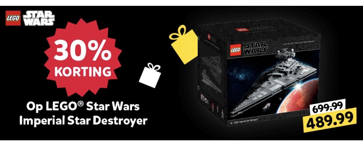 Intertoys Black Friday deal ! LEGO star destroyer laagste prijs ooit volgens brickwatch
