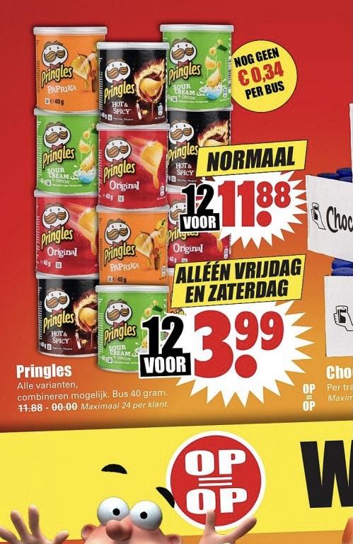 Pringles | Small | 12 stuks