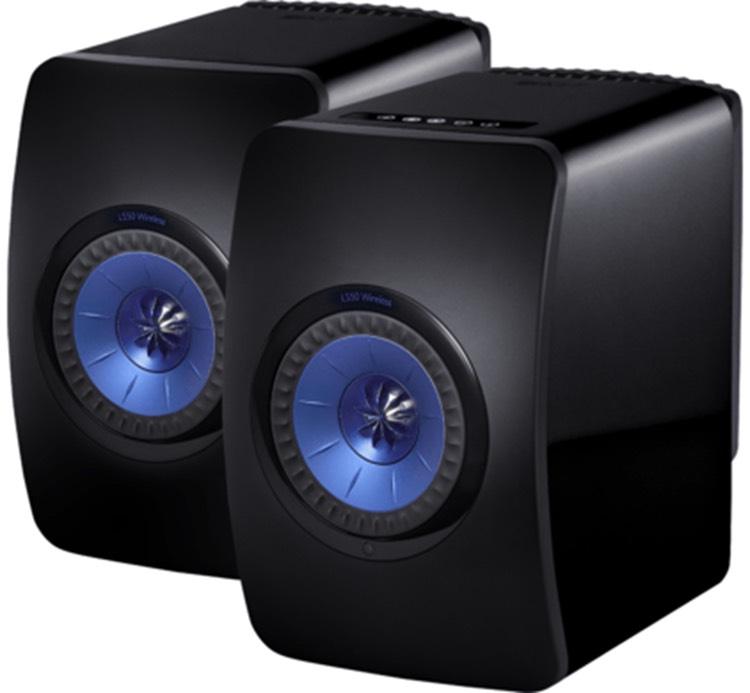 Kef LS50 Wireless, Zwart