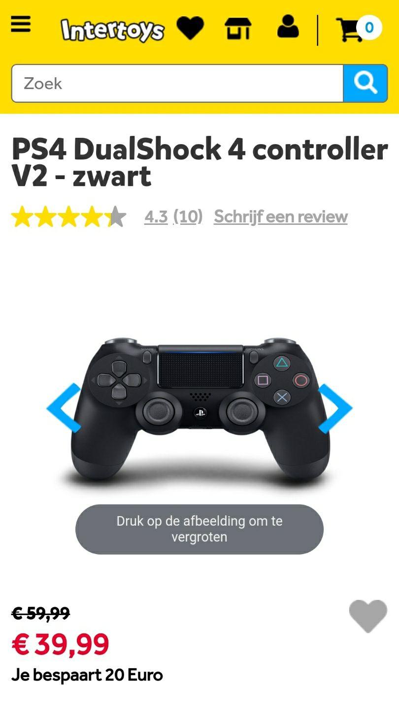 PS4 DualShock 4 controller V2