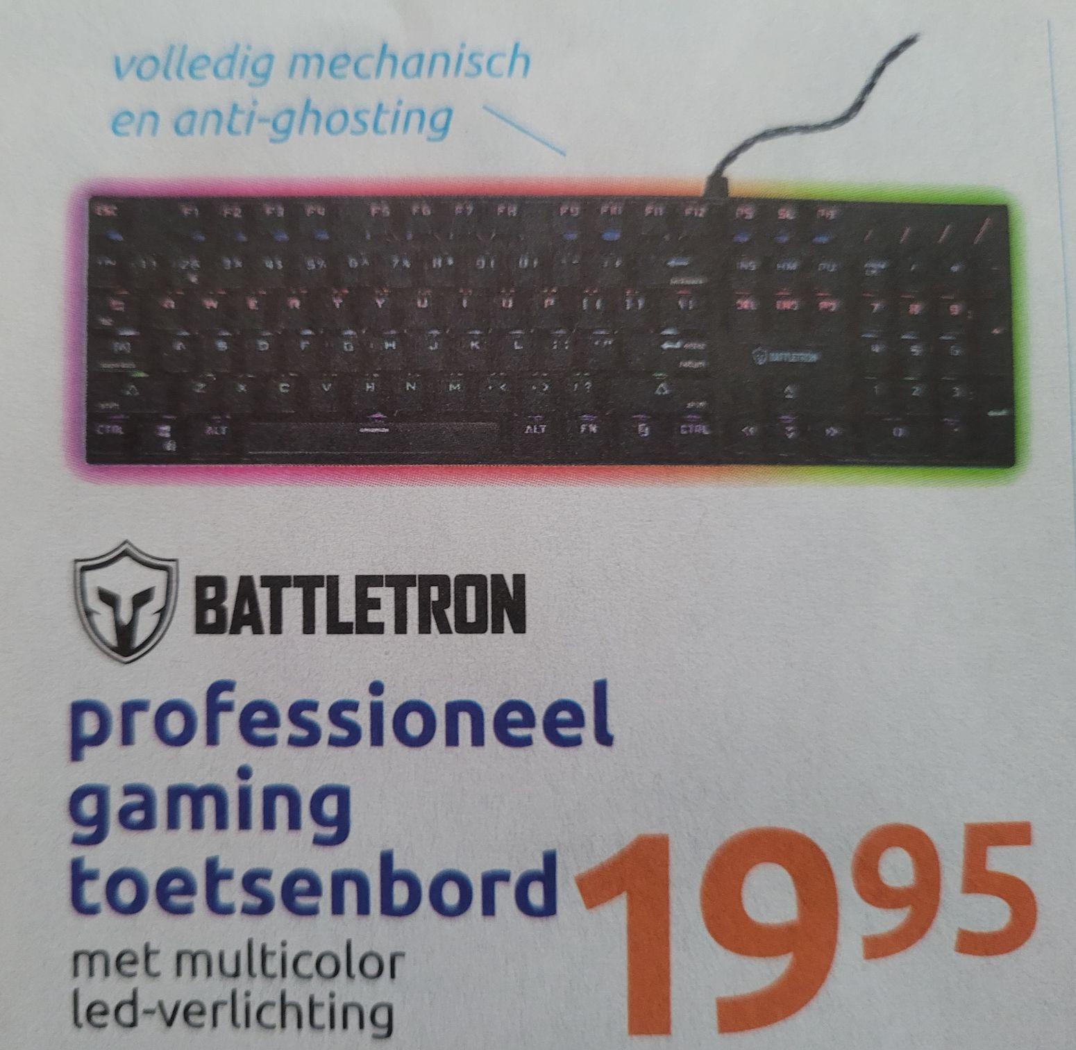Action Battletron mechanische toetsenbord