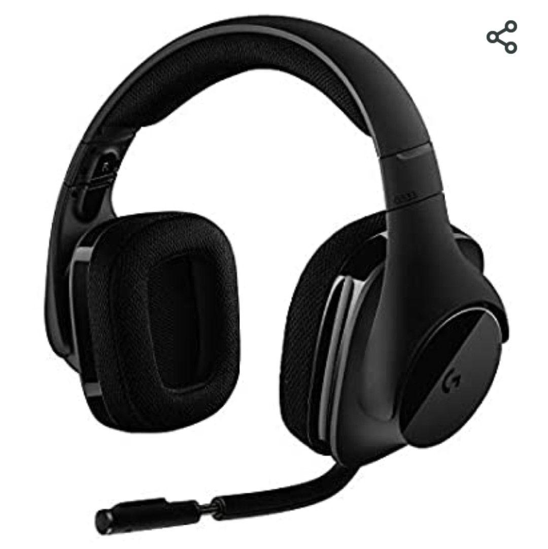 Logitech G533 draadloos gaming headset