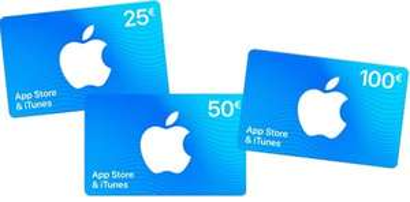 15% GRATIS extra tegoed op App Store & iTunes kaarten @ Lidl