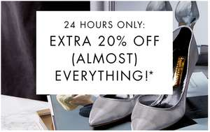 20% EXTRA korting op (bijna) alles @ The Outnet