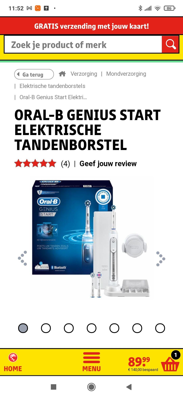 Oral-B Genius Start Elektrische Tandenborstel | Kruidvat