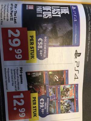 The last of us II bij Lidl in de aanbieding.
