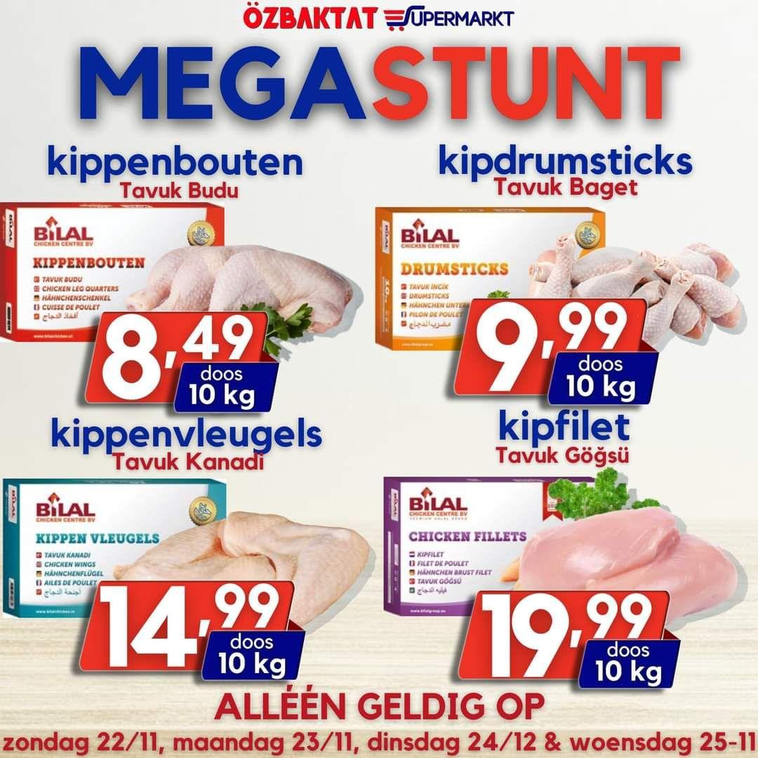 [LOKAAL] 10kg kipfilet €19,99 en andere ook goedkoop @Özbaktat Supermarkt