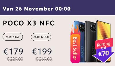 Xiaomi Poco X3 NFC 6GB/128GB [vanaf 26-11]