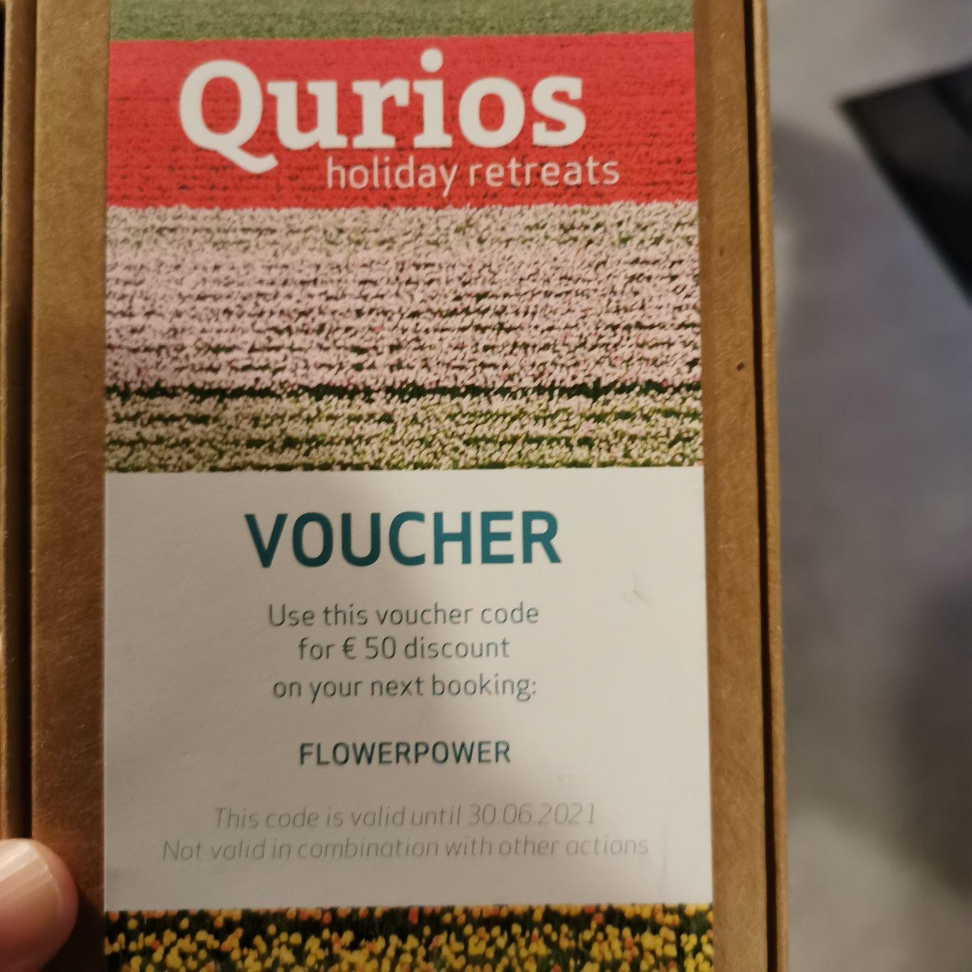 Qurios vakantieparken - €50 korting