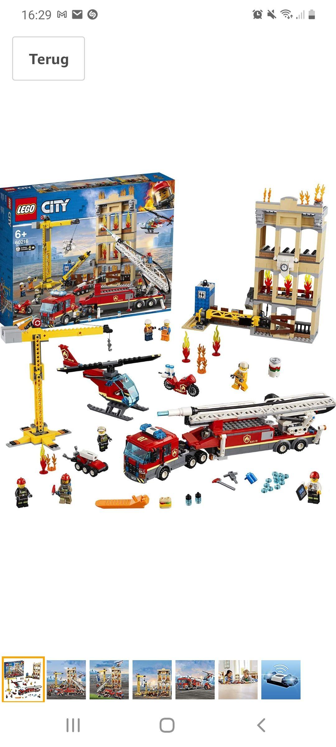 Lego city brandweerkazerne