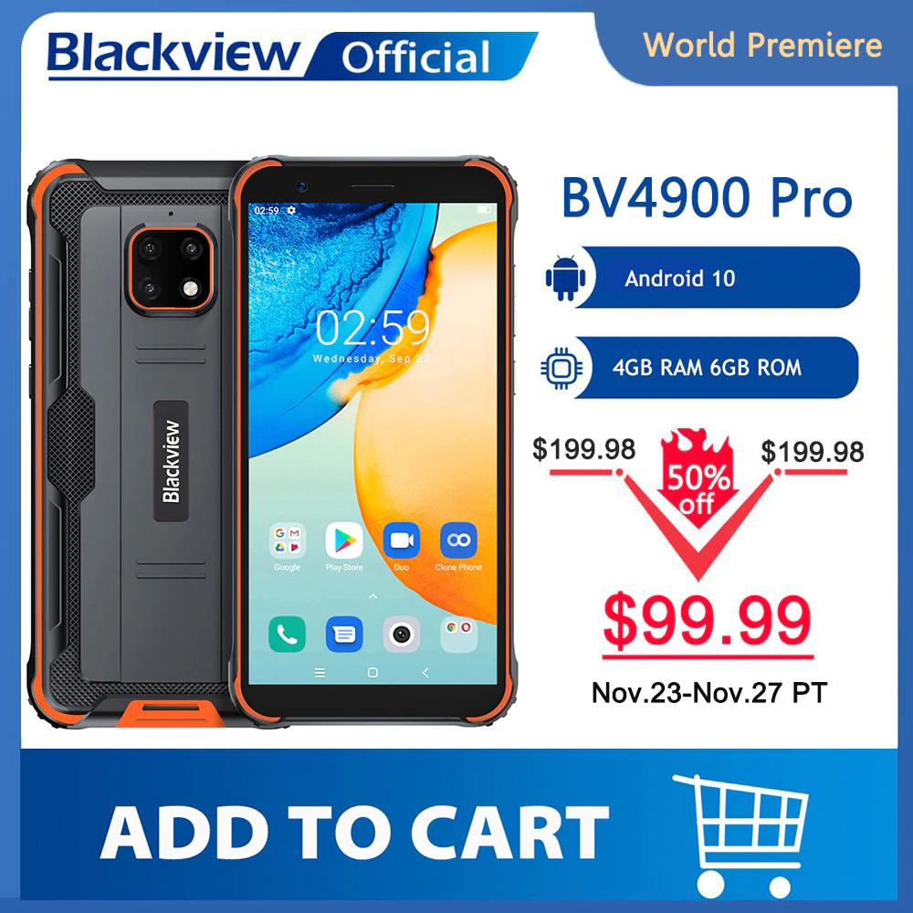 Blackview BV4900 Pro smartphone