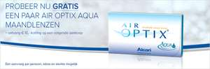 Gratis paar Air Optix Aqua Maandlenzen