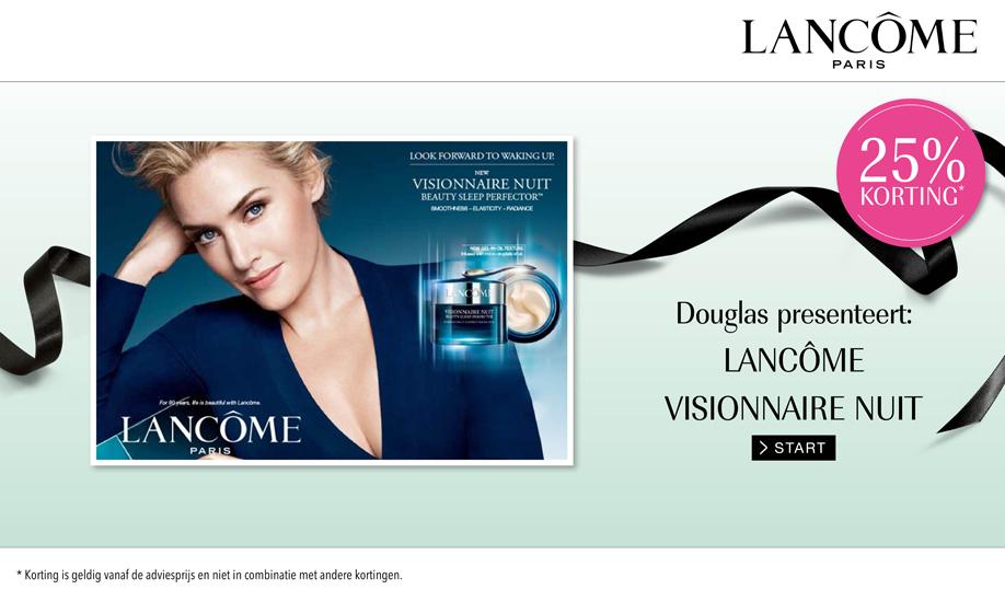 25% korting op Lancôme producten @ Douglas
