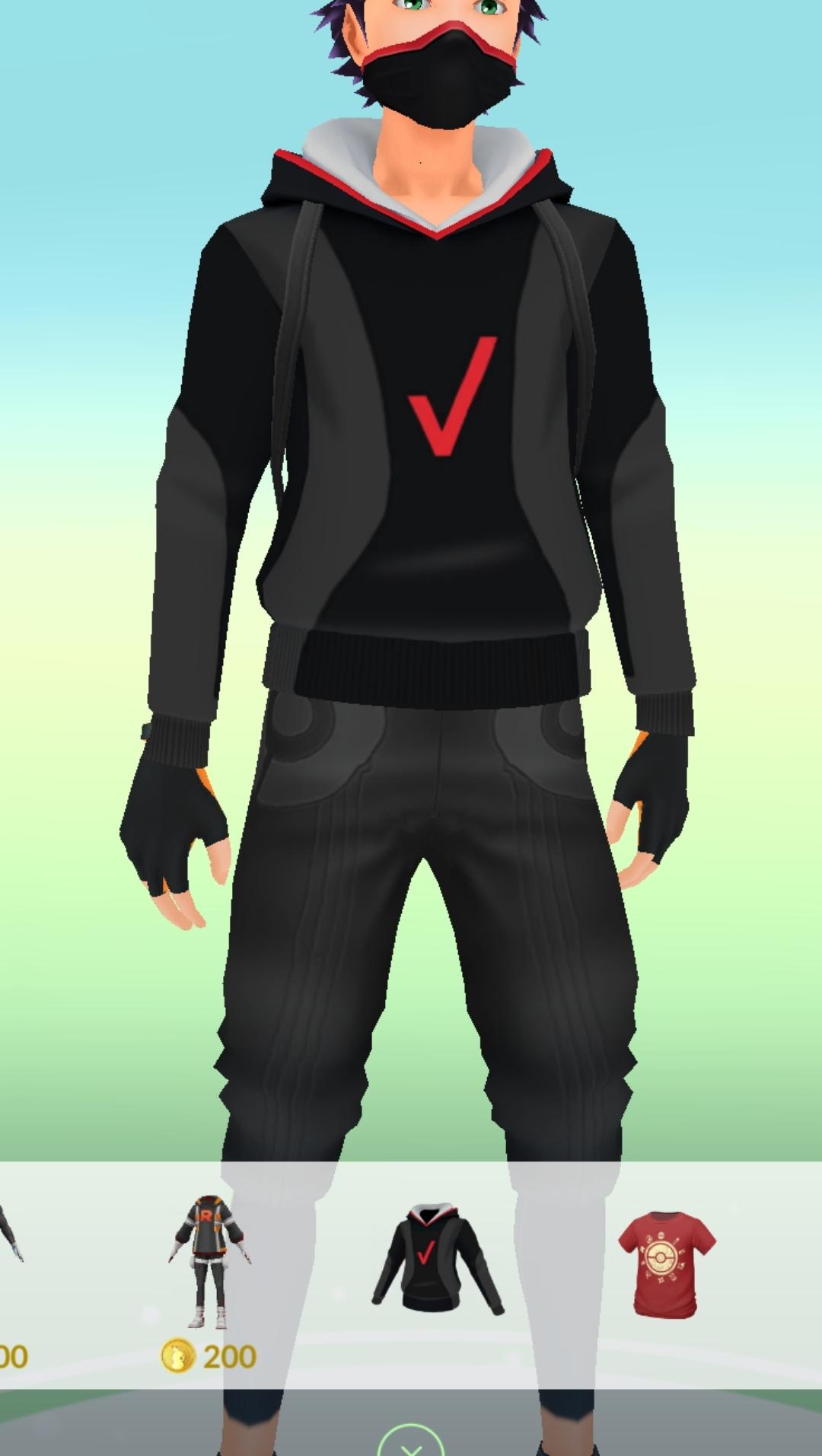 [Pokemon Go] gratis setje Verizon kleren + ballen