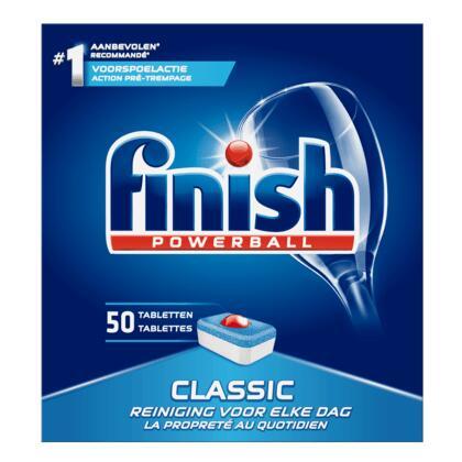 150 FINISH Classic vaatwas tabletten €8,49 @ Plus (€0,057 per tablet)