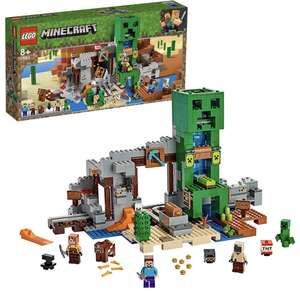 Lego minecraft creeper mine 21155