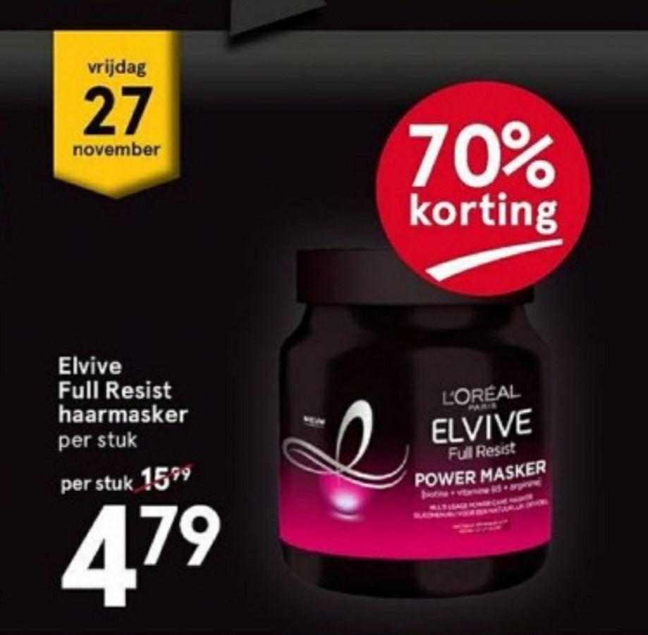 ETOS - Elvive full resist power masker met 70% korting!!