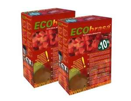 Ecobrasa kokosbriketten 2x10kg - 20% korting!