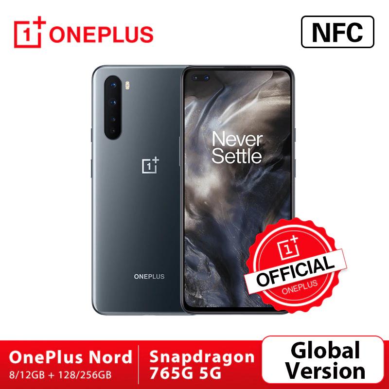 Global Versie Oneplus Nord 5G 12/256GB Grey