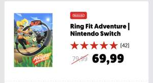 Ring Fit Adventure €69,99 @MediaMarkt