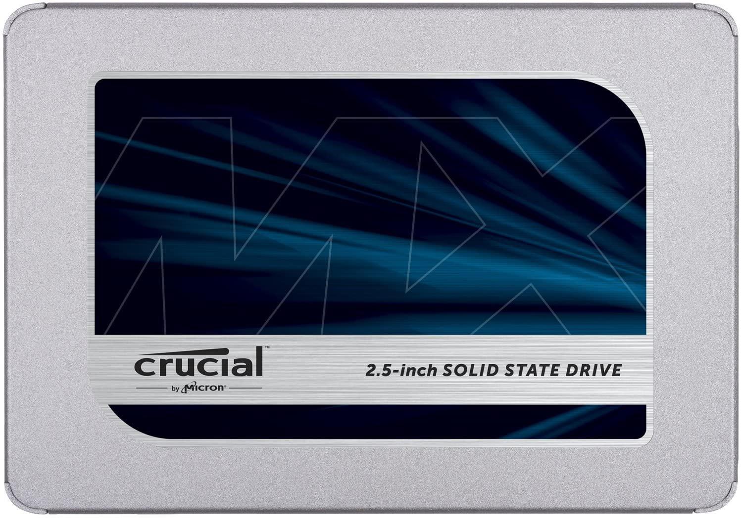 Crucial MX500 Interne SSD 1TB / 2,5 inch / SATA (CT2000MX500SSD1)