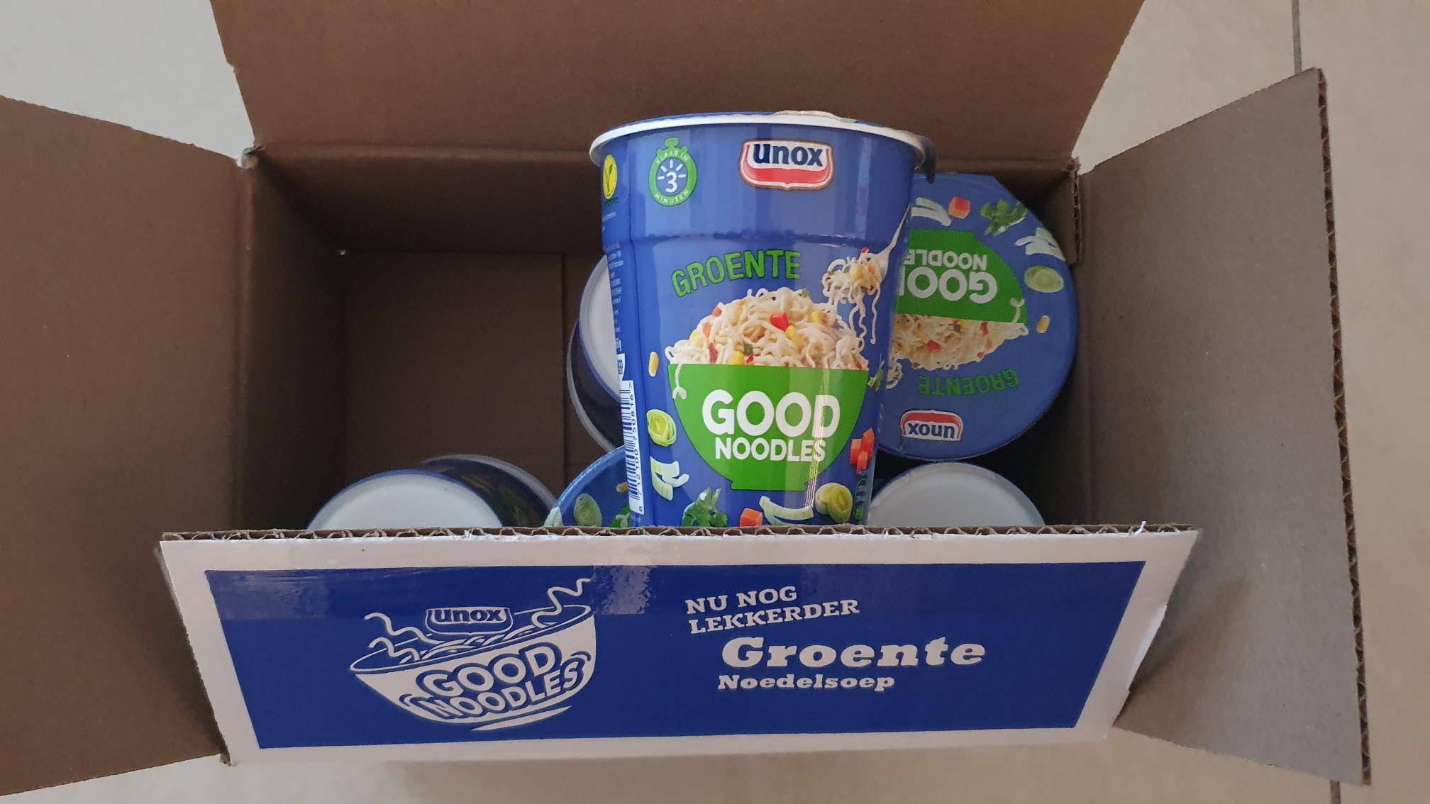 Die grenze 6 x Good Noodles groente beker van cup a soup